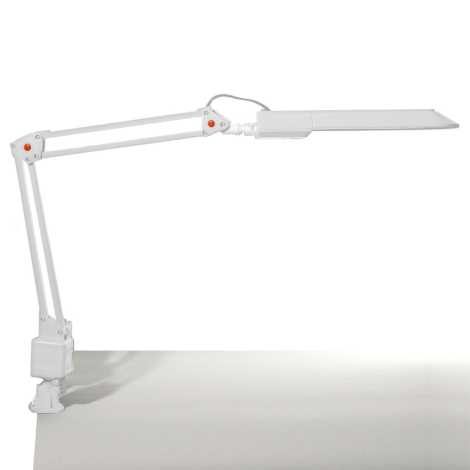 Top Light - Stolní lampa OFFICE 1xG23/11W/230V bílá