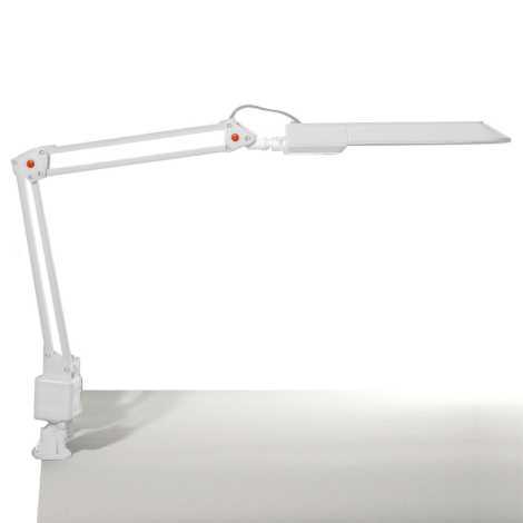 Top Light - Stolní lampa OFFICE 1xG23/11W/230V bílá