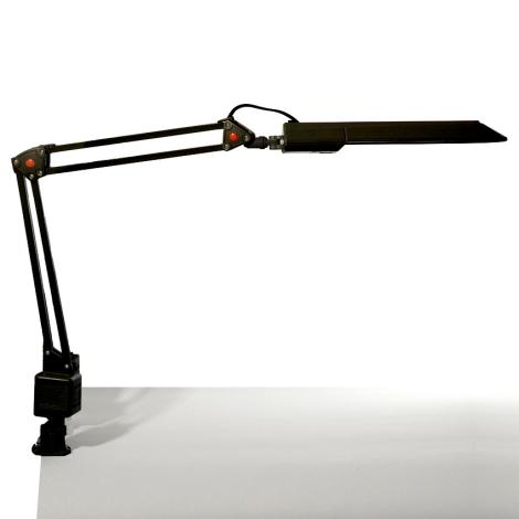 Top Light - Stolní lampa OFFICE 1xG23/11W/230V černá