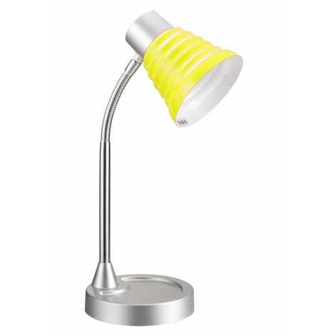 Top Light - Stolní lampa SILVIA 1xE14/40W/230V žlutá