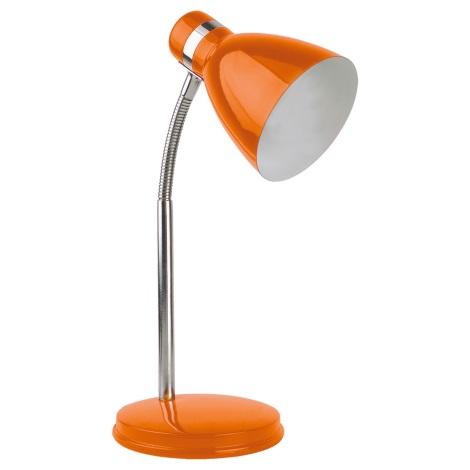 Top Light - Stolní lampa STUDENT 1xE14/40W/230V oranžová