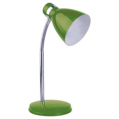 Top Light - Stolní lampa STUDENT 1xE14/40W/230V zelená