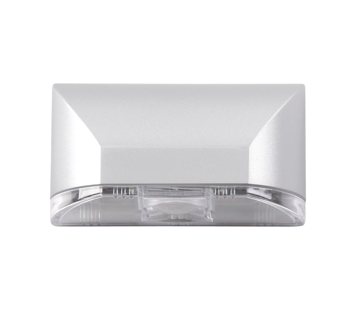 TOP LIGHT Top Light TL LED PIR 4 - LED nástěnné svítidlo s čidlem 4xLED/1xAA TP0875