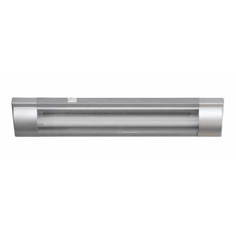 Top Light ZSP 18 STR - Zářivkové svítidlo 1xT8/18W/230V stříbrná