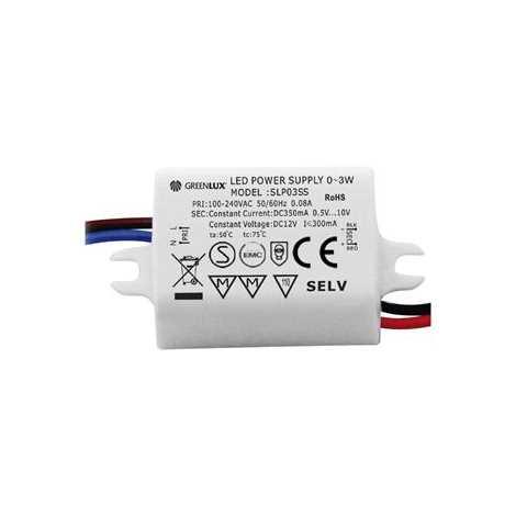 Trafo k LED pásku LED 1x3W - GXLD001