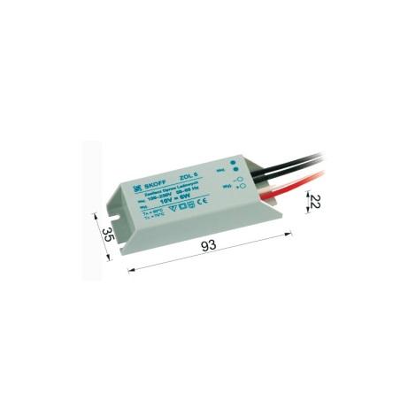 Transformátor pro LED svítidla TANGO 6W/230V/10V DC