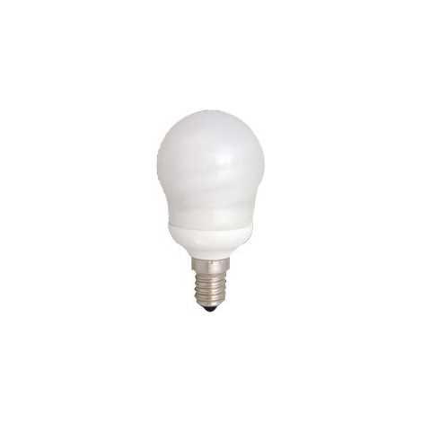 Úsporná žárovka E14/9W teplá bílá