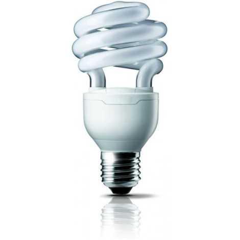 Úsporná žárovka E27/12W studená bílá