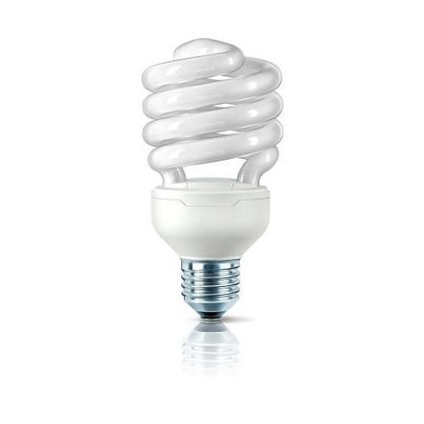 Úsporná žárovka E27/9W teplá bílá