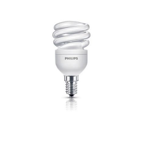 Úsporná žárovka PHILIPS E14/8W/230V - ECONOMY TWISTER