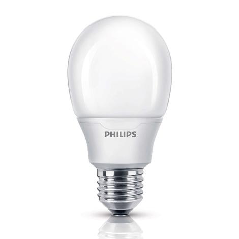 Úsporná žárovka Philips E27/11W/230V - SOFTONE