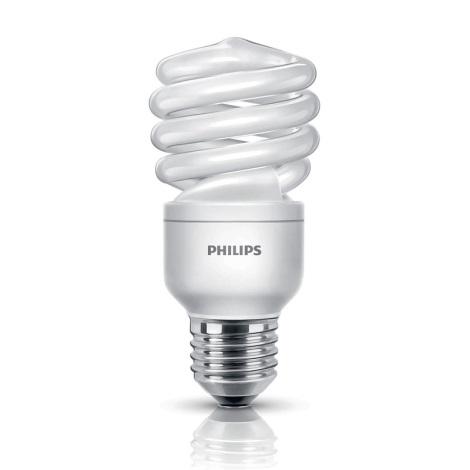 Úsporná žárovka PHILIPS E27/12W/230V - ECONOMY TWISTER