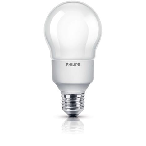 Úsporná žárovka PHILIPS E27/12W/230V - SOFTONE