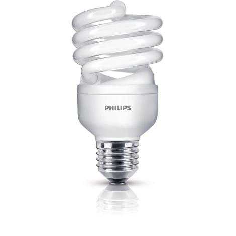 Úsporná žárovka PHILIPS E27/20W/230V - ECONOMY TWISTER