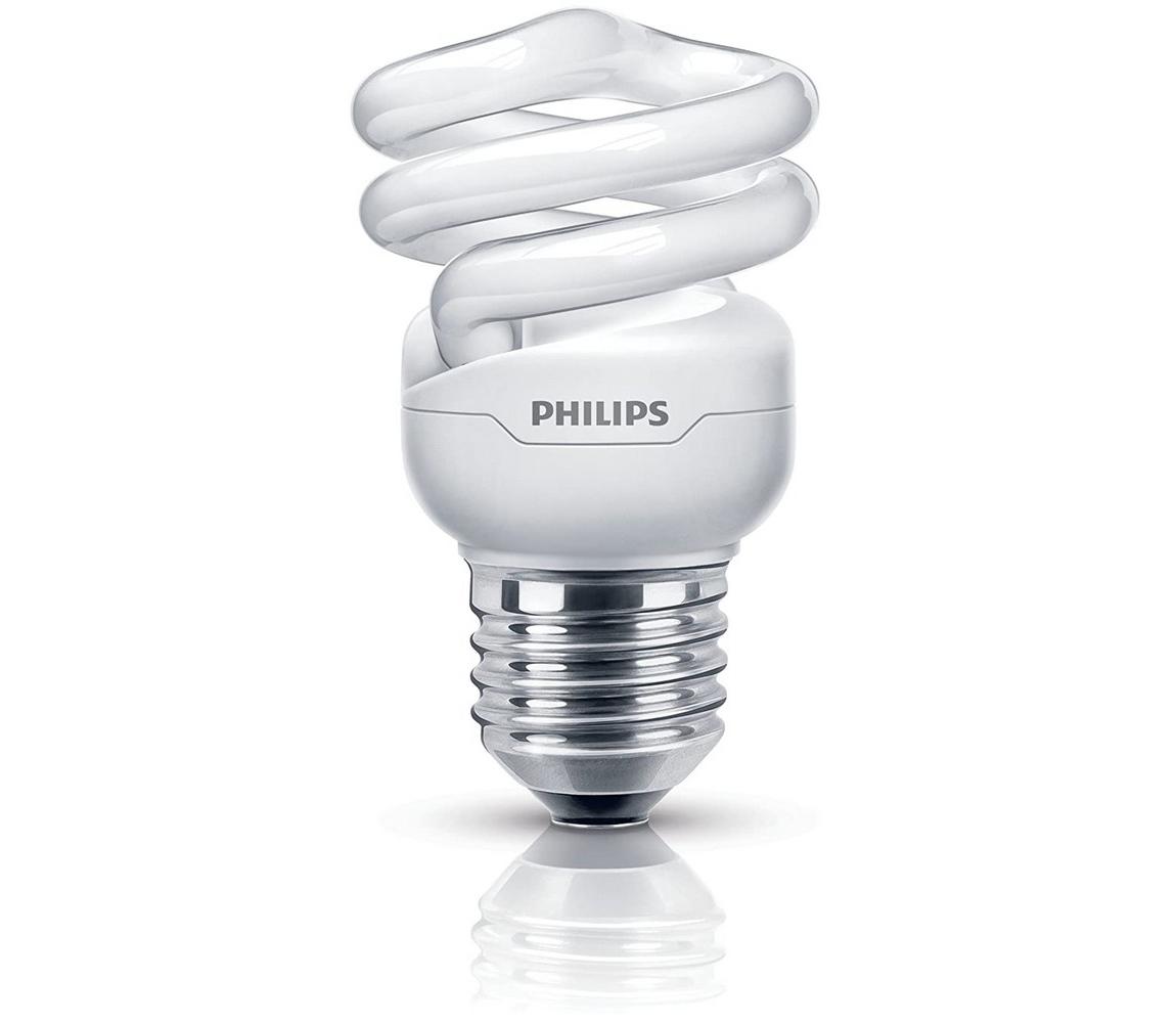 Philips Úsporná žárovka Philips E27/8W/230V 2700K P3539
