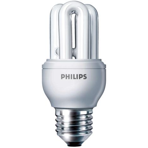 Úsporná žárovka PHILIPS E27/8W/230V - GENIE