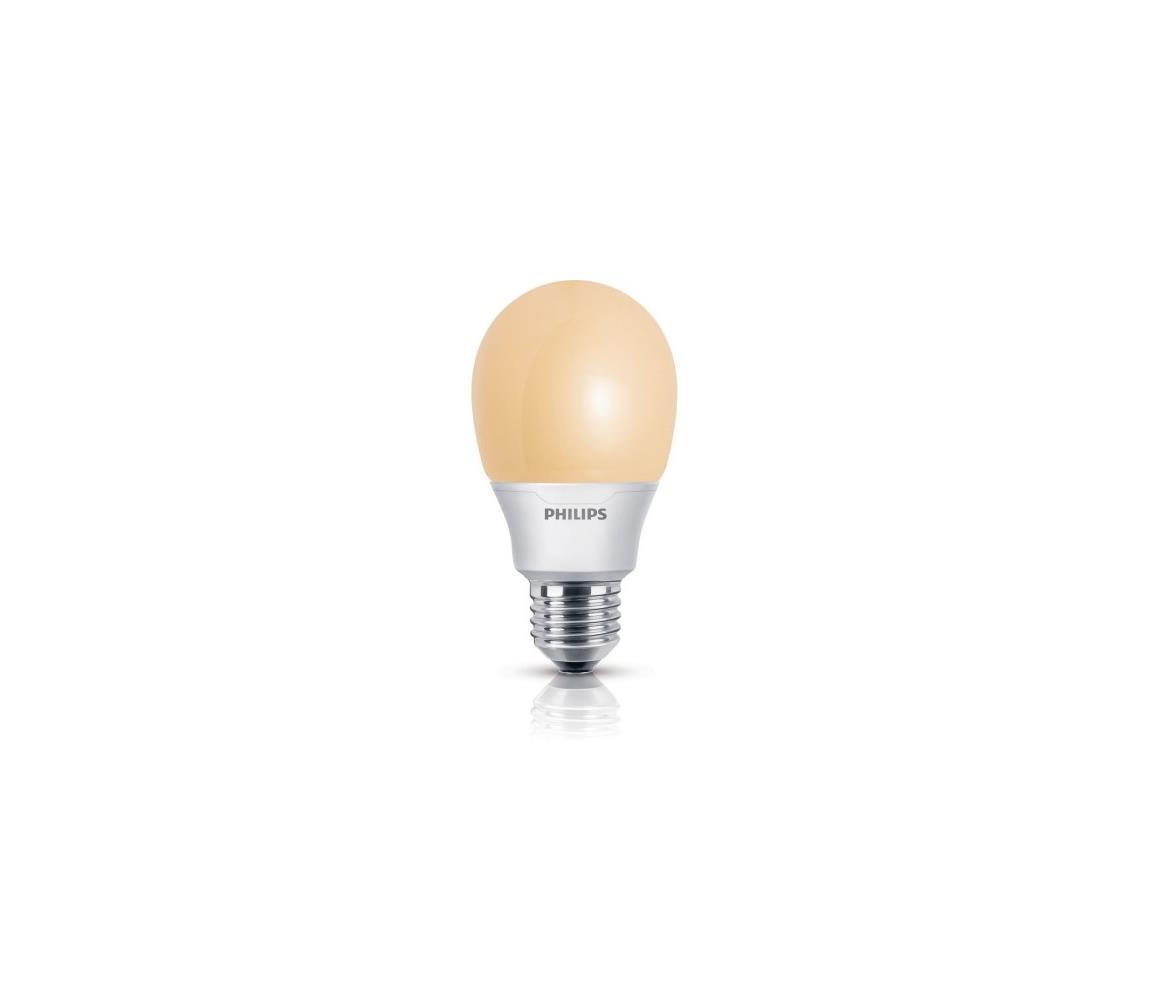 Philips Úsporná žárovka Philips E27/8W/230V P4259