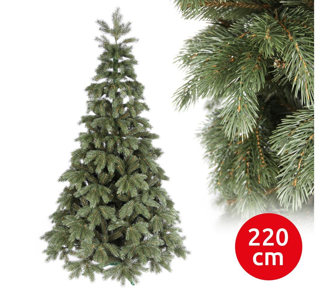 ANMA Vánoční stromek EMNA 220 cm borovice AM0065