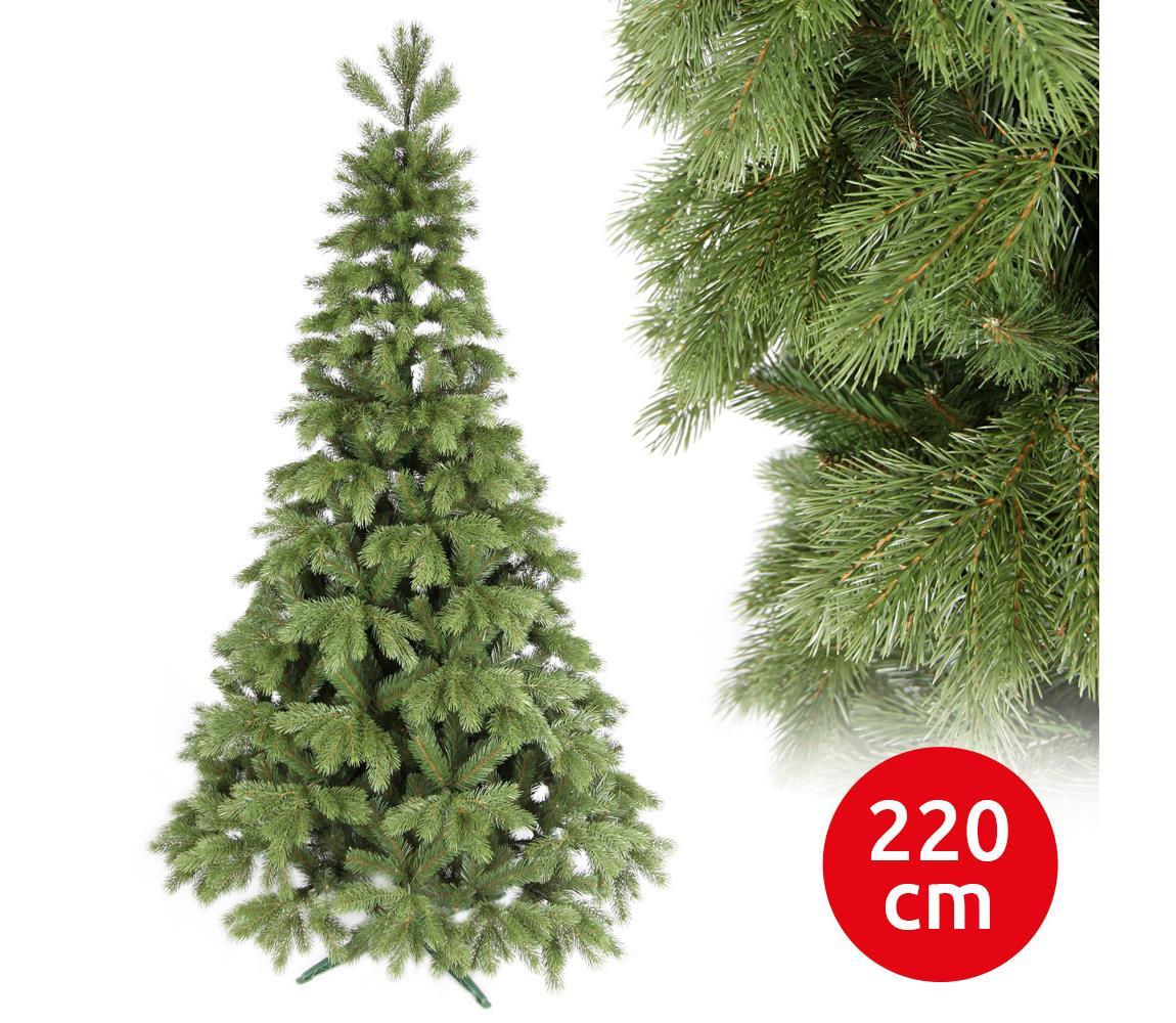 ANMA Vánoční stromek LIGHT 220 cm borovice AM0063