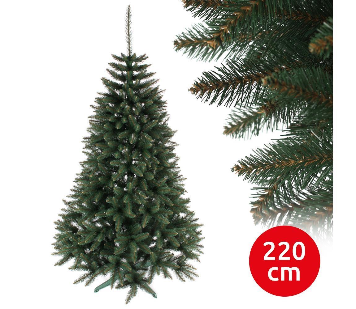 ANMA Vánoční stromek RUBY 220 cm smrk AM0069