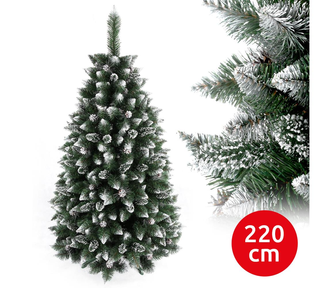 ANMA Vánoční stromek TAL 220 cm borovice AM0040
