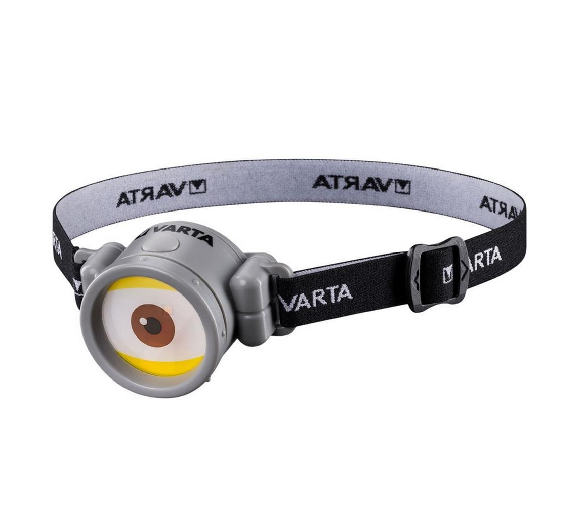 Varta Varta 15611 - LED Dětská čelovka MINIONS LED/5W/1xAAA VA0074