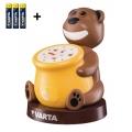 Varta 17501 - LED Dětská projektorová lampa PAUL 2xLED/3xAA