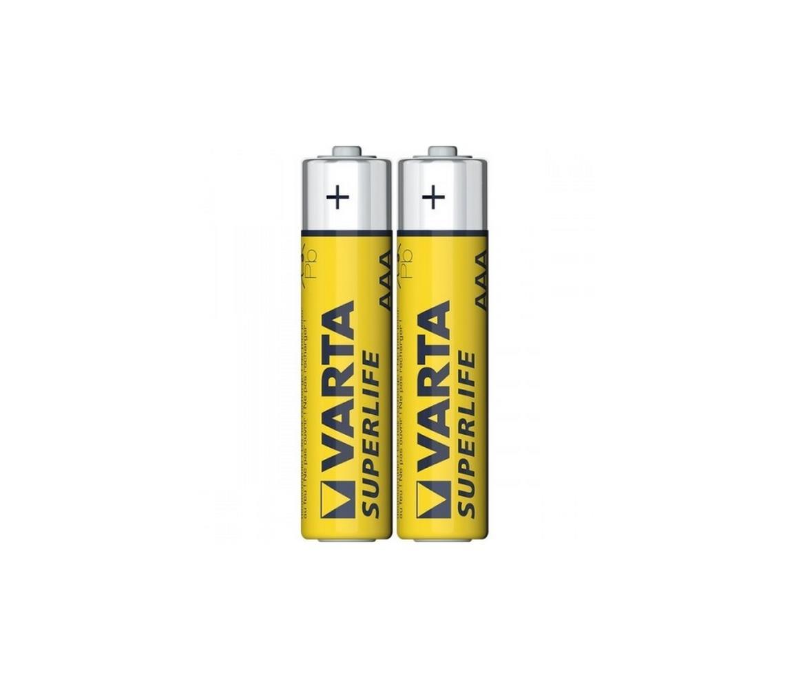 Varta Varta 2003 - 2 ks Zinkouhlíková baterie SUPERLIFE AAA 1,5V