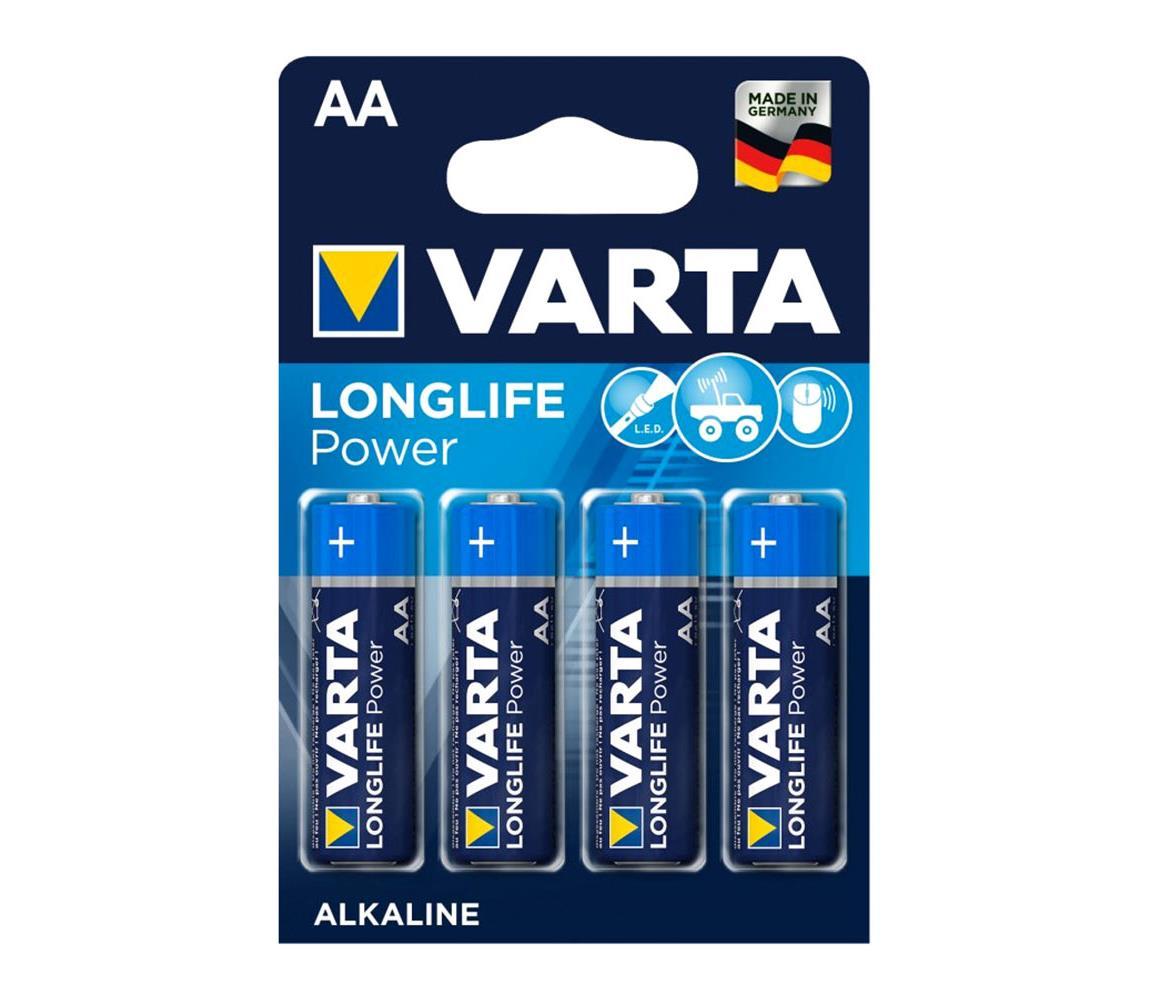 Varta Varta 4906 - 4 ks Alkalické baterie HIGH ENERGY AA 1,5V VA0002