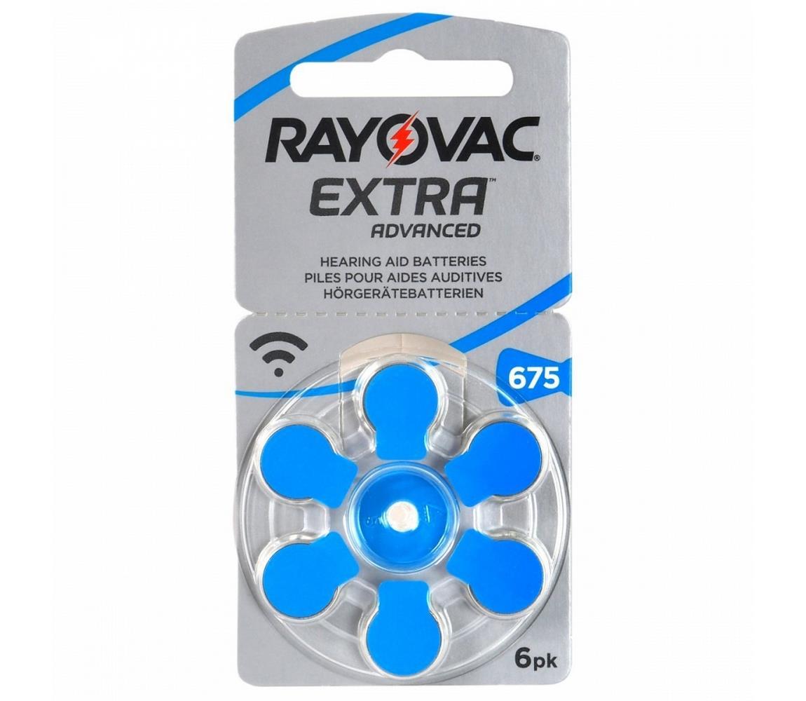 Varta Varta Rayovac 40000 - 6 ks Baterie do naslouchadel 675 1,45V VA0099