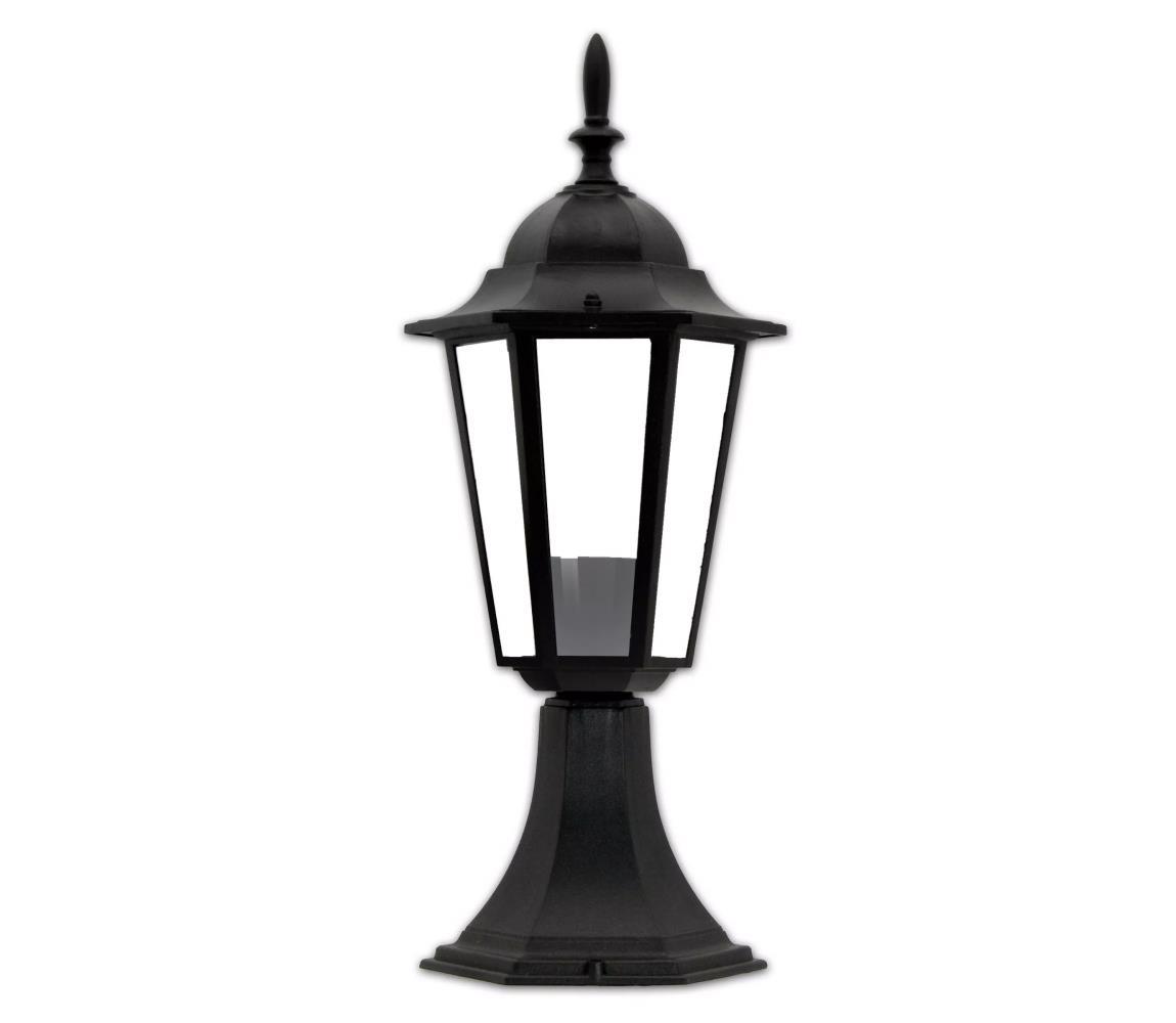 Polux Venkovní lampa 1xE27/60W/230V černá