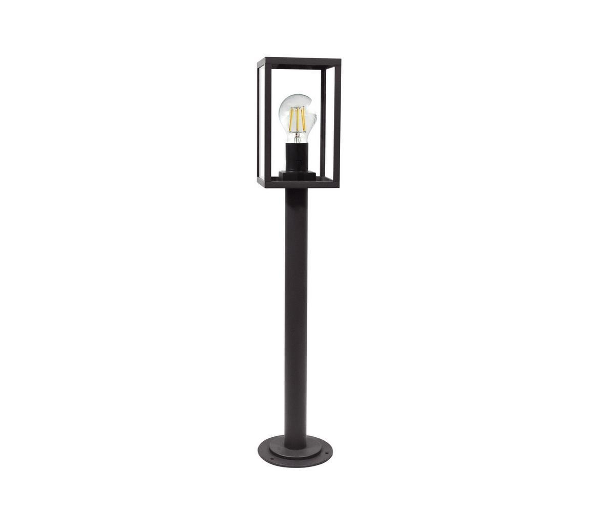 Polux Venkovní lampa MALMO 1xE27/15W/230V černá IP44