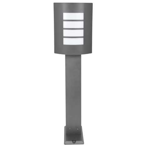 Venkovní lampa MEMPHIS 1xE27/60W/230V šedá