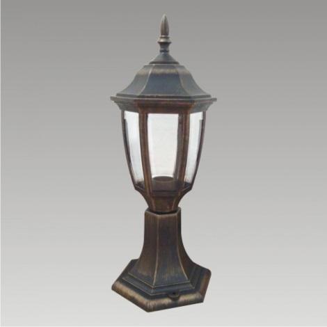 Venkovní lampa NICOSIA 1xE27/60W černá