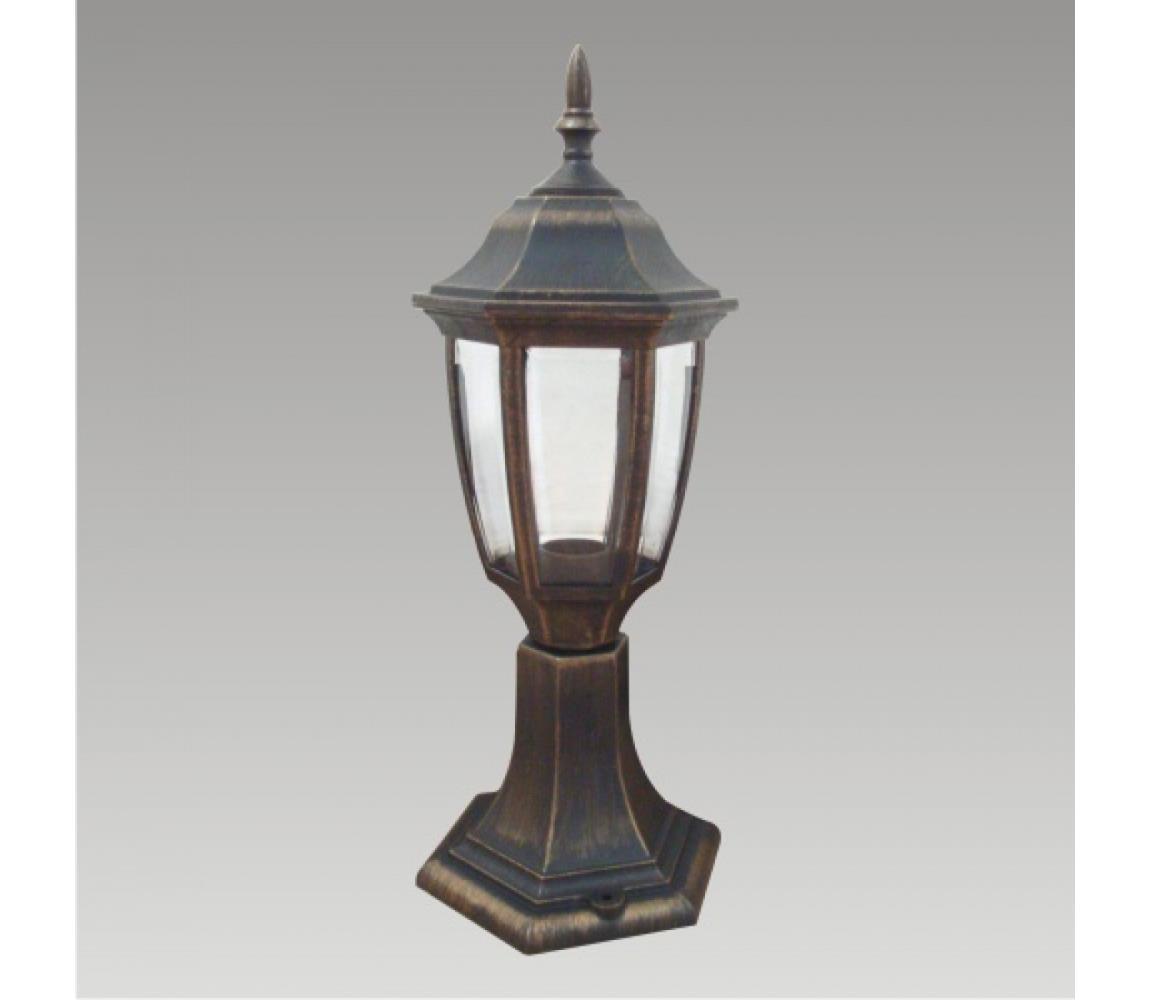 Prezent Venkovní lampa NICOSIA 1xE27/60W černá IP44