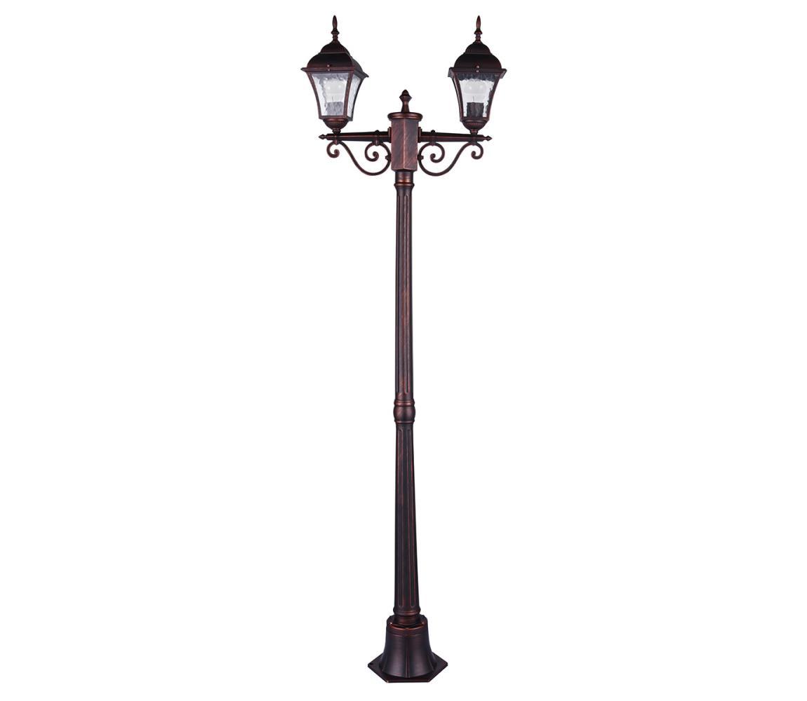 Polux Venkovní lampa PARIS 2 2xE27/20W/230V