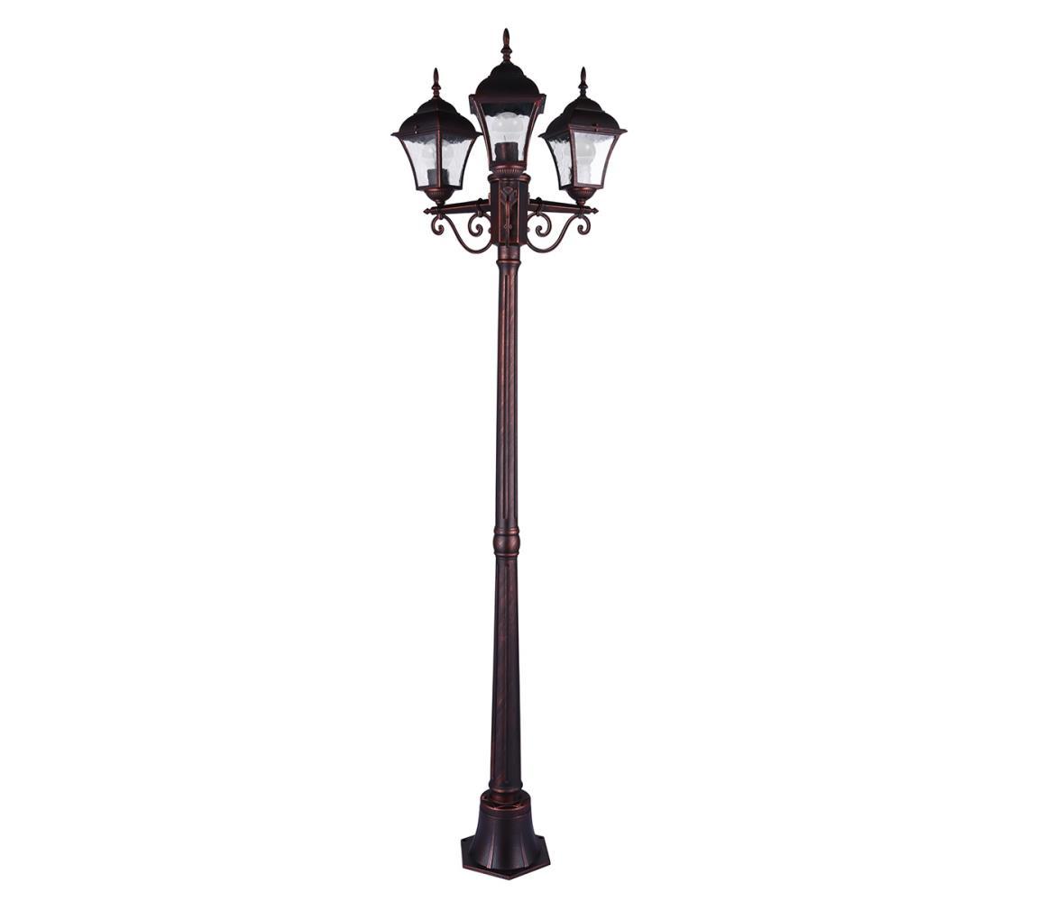 Polux Venkovní lampa PARIS 2 3xE27/20W/230V