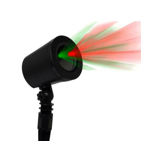 Venkovní laserový projektor 7W/230V IP65