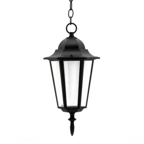 Venkovní lustr 1xE27/60W/230V černá