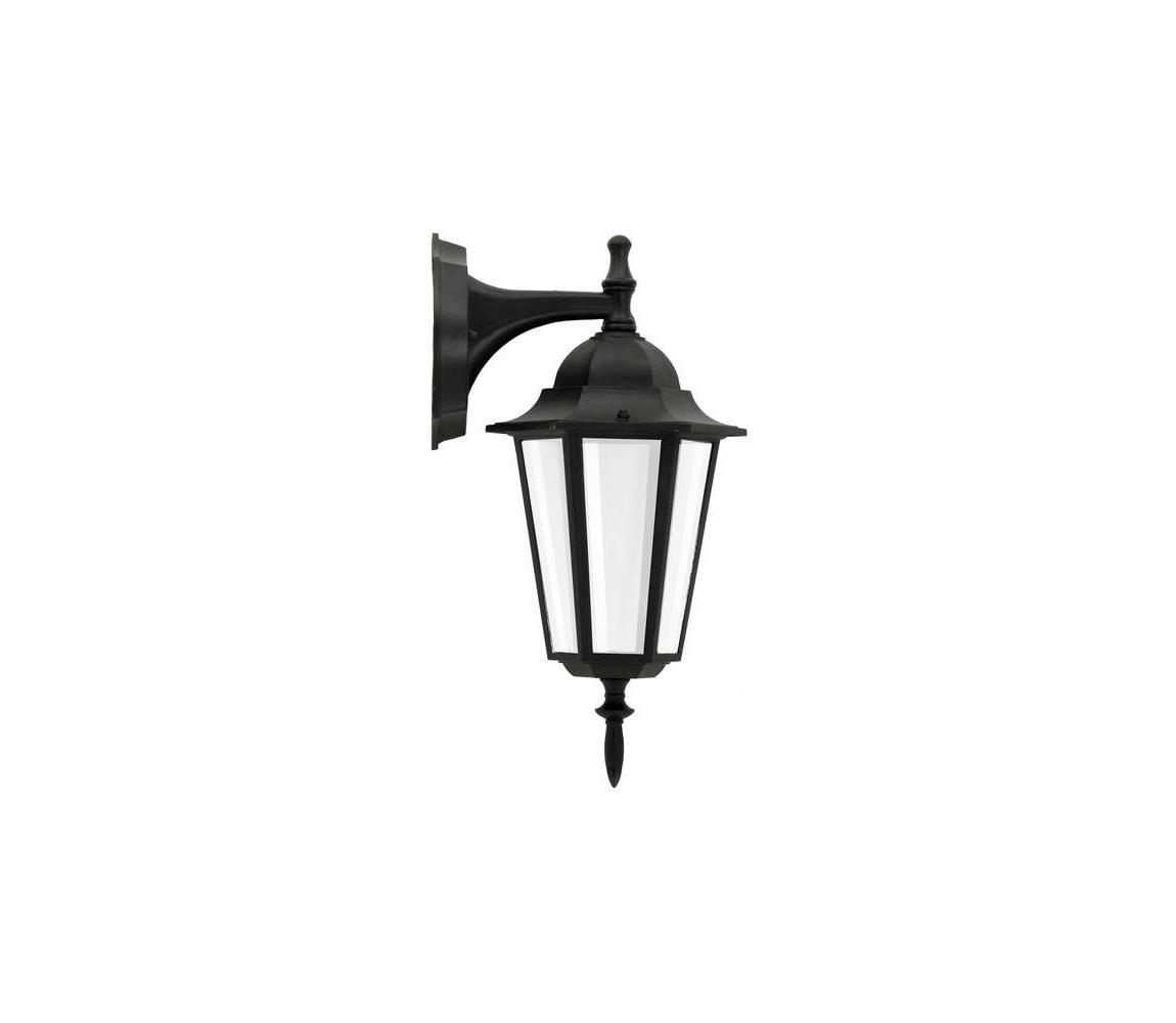 Polux Venkovní nástěnné svítidlo 1xE27/60W/230V černá