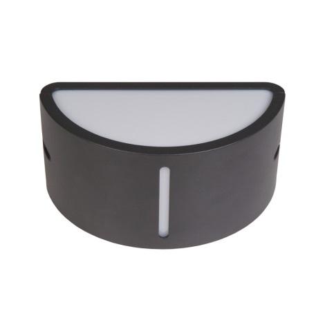 Venkovní nástěnné svítidlo BONN 1xE27/60W šedá