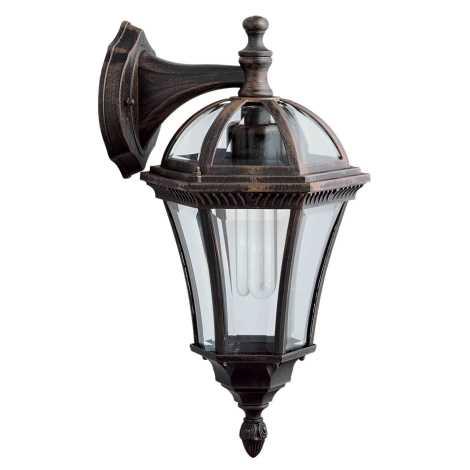 Venkovní nástěnné svítidlo CAPRI D 1xE27/100W