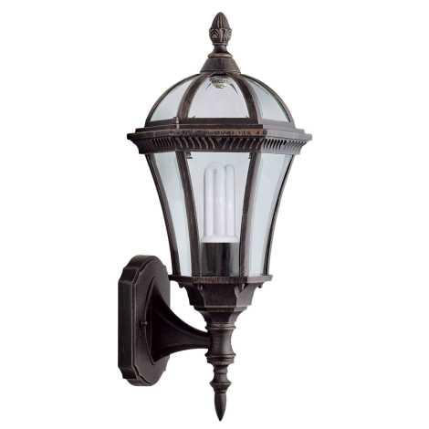 Venkovní nástěnné svítidlo CAPRI N 1xE27/100W