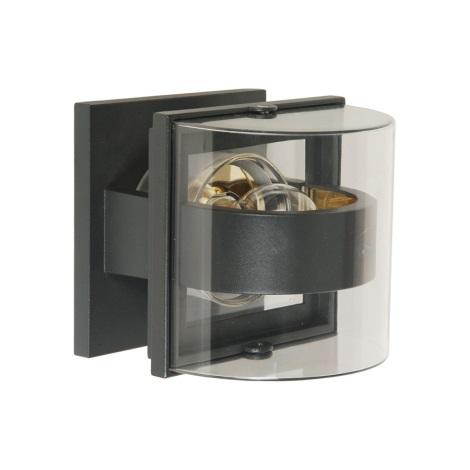 Venkovní nástěnné svítidlo GAMA 1xE27/60W šedá
