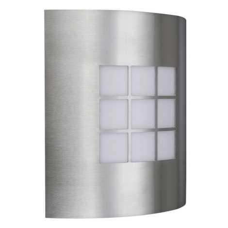 Venkovní nástěnné svítidlo INOX 1xE27/60W/230V - 01812/91/47