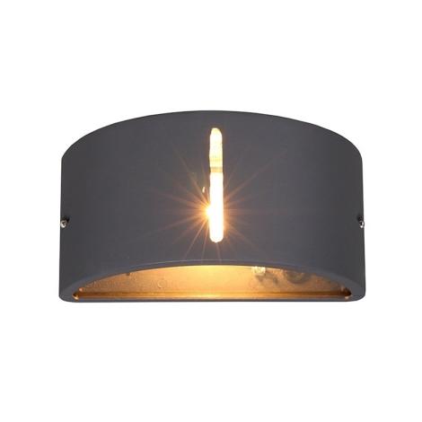 Venkovní nástěnné svítidlo KONGO I 1xE27/20W/230V