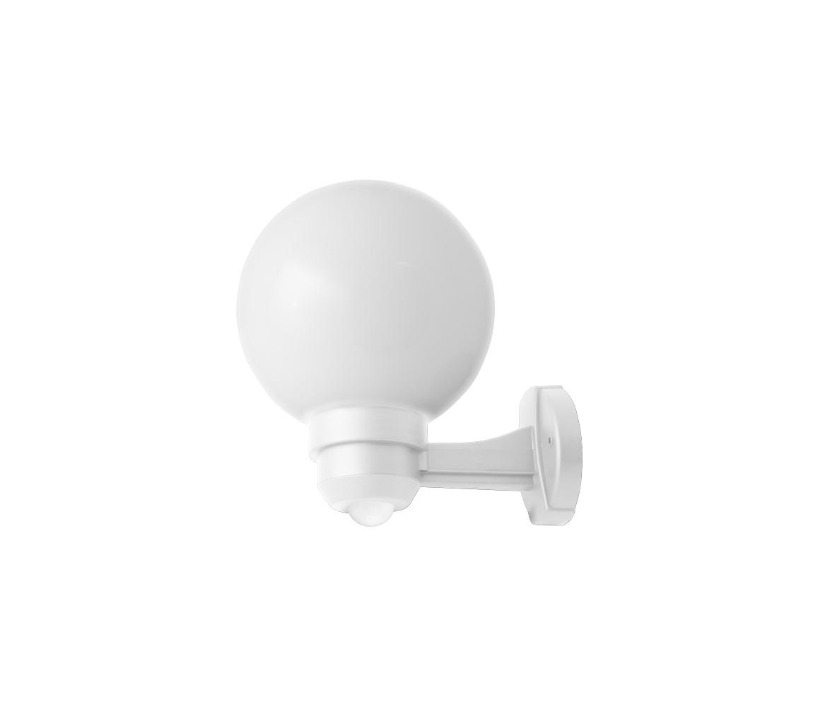Panlux ZOM-S-20/B - Venkovní nástěnné svítidlo s čidlem PARK S 1XE27/60W/230V