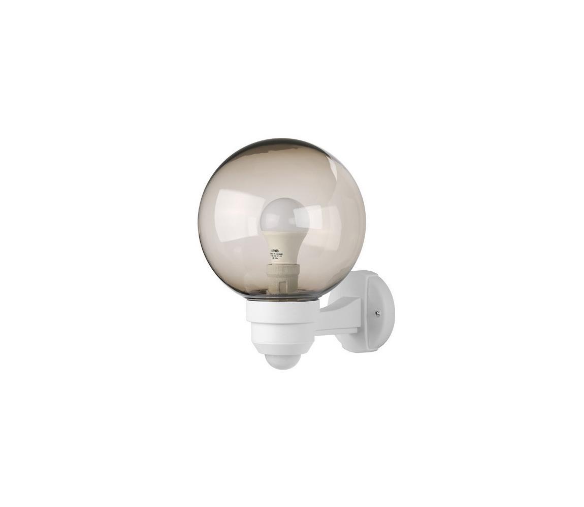 Panlux ZOK-S-20/B - Venkovní nástěnné svítidlo s čidlem PARK S 1XE27/60W/230V