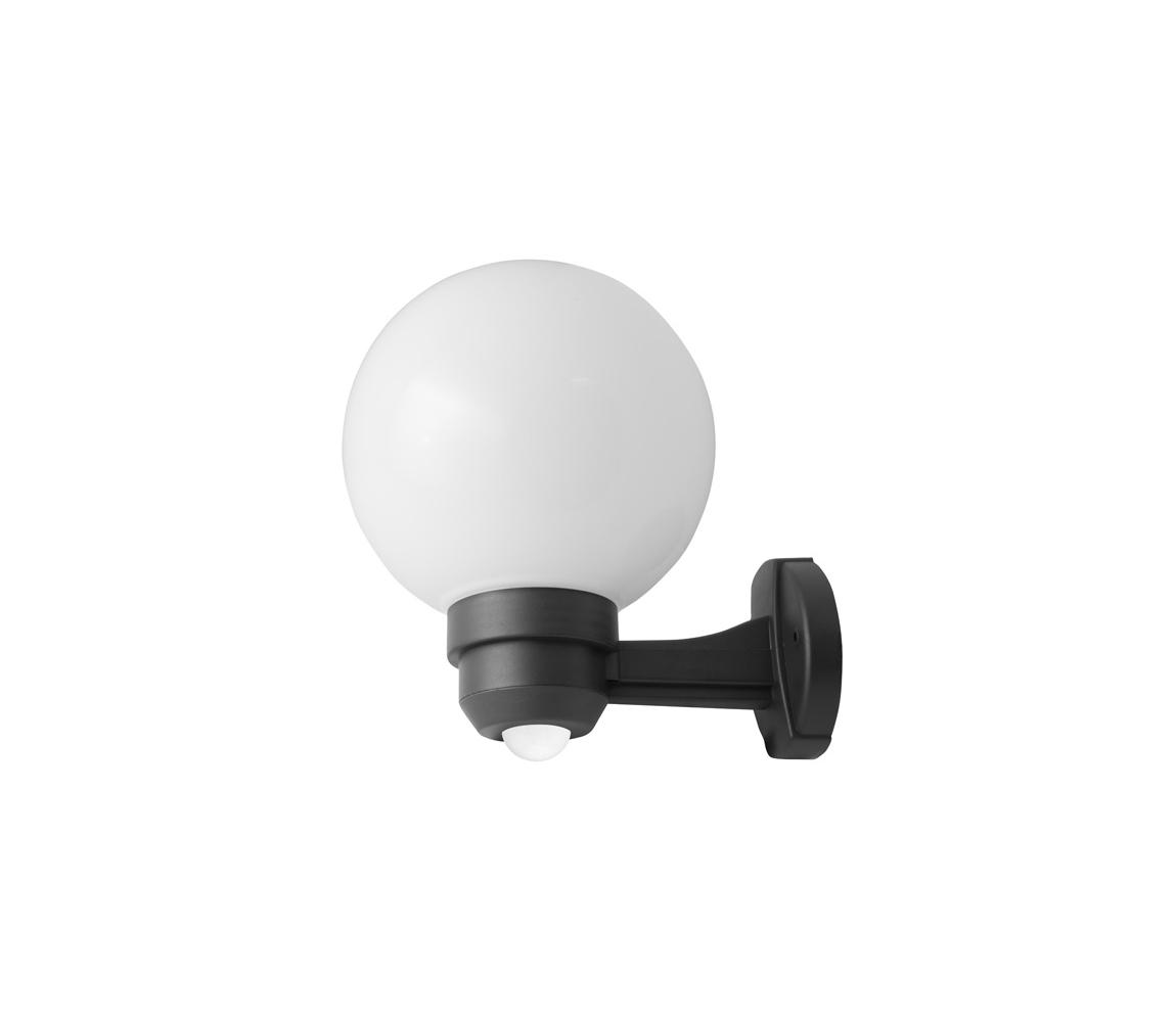 Panlux ZOM-S-20/C - Venkovní nástěnné svítidlo s čidlem PARK S 1XE27/60W/230V