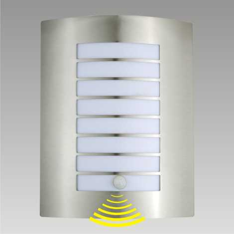 Venkovní nástěnné svítidlo s čidlem MEMPHIS 1xE27/60W/230V